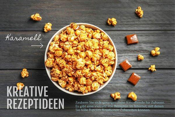 Hopser Food Fun Popcorn Öl 500 ml mit feinem natürlichen Butteraroma und praktischem Ausgießer Hocherhitzbares Popcornmais Butter Aroma Fett Raps Sinfonie mit Traubenkernöl und Buttergeschmack