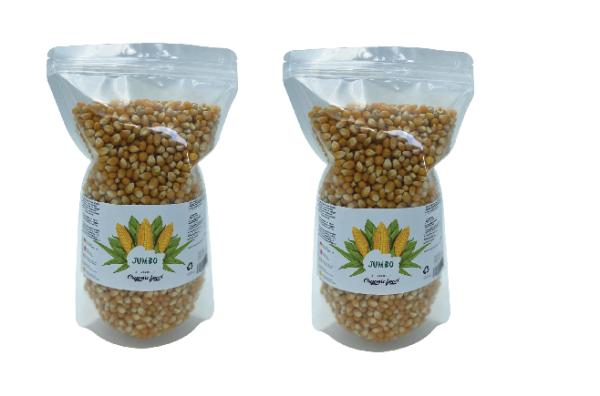 Jumbo XL 2 kg Popcornmais Original für Airpopper Mikrowelle Herd Topf