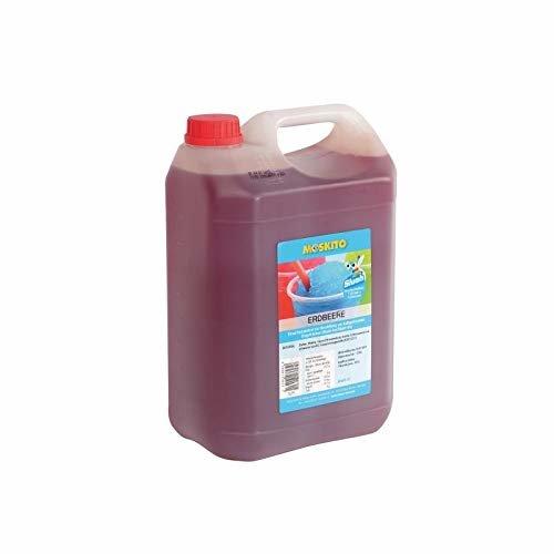 Moskito Slush Sirup Erdbeere Rot 5 Liter