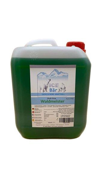 ICE BÄR Slush Sirup Konzentrat AZO FREI Waldmeister 5 Liter